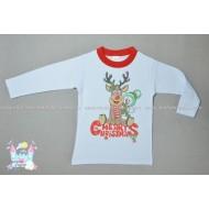 Блуза с апликация Коледа