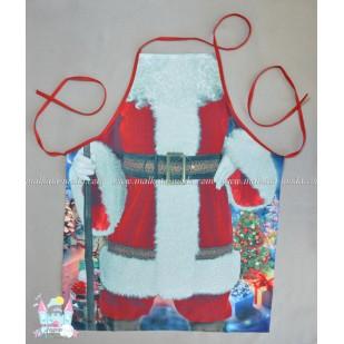 Готварска престилка - Дядо Коледа