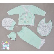 Бебешки комплект 5 части - Pretty girl