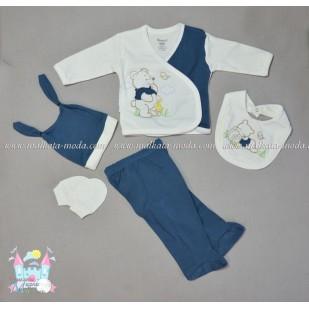 Бебешки комплект 5 части - Мече